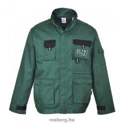 MV Portwest TEXO TX10 kétszínű kabát zöld S-XXXL MÉRETEK