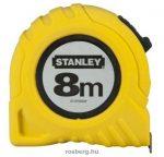 STANLEY mérőszalag  8 m  030657