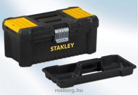 STANLEY szerszámosláda stst1-75515 12,5 fémcsatos,fedélben csavartartó