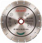 gyémántvágó abraboro 115x22,3 no.16 szegmens 7 mm /st-5/