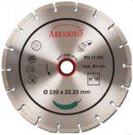 gyémántvágó abraboro 125x22,3 no.16 szegmens 7 mm /st-5/