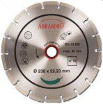 gyémántvágó abraboro 230x22,3 no.16 szegmens 7 mm /st-5/