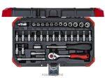 GedoreRed dugókulcs készlet 1/4'' 4-13 mm 33 részes R49003033