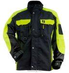 MV URGENT kabát URGENT-Y fekete-neon 44-62
