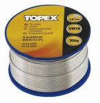 TOPEX forrasztóón 0,7 mm 100gr 44E512
