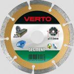 VERTO gyémántvágó 115 mm szegm 61H3S1