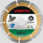 VERTO-gyemantvago-125-mm-szegm-61H3S5