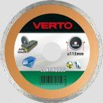 VERTO gyémántvágó 125 mm vizes 61H3T5