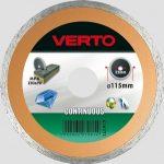 VERTO gyémántvágó 180 mm vizes 61H3T8