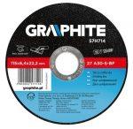 GRAPHITE-tisztitokorong-fem-125-64-57H715