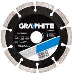 GRAPHITE gyémántvágó 125 mm SZEGM LÉZER 57H606