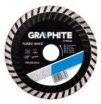 GRAPHITE gyémántvágó 230 mm SZEGMENSES 57H619