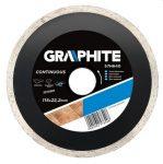 GRAPHITE gyémántvágó 180 mm VIZES 57H644