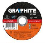 GRAPHITE vágókorong 115X1,0 INOX57H730