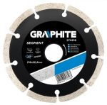 GRAPHITE gyémántvágó 200X25.4 SZEGM. 57H870