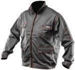 MV szürke NEO kabát 81-410 48-58 méretek multifunkciós zsebek