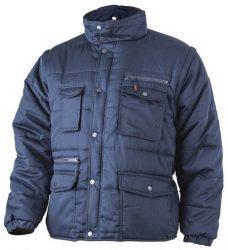 MV kék POLENA SLEEVE kabát/mellény (MÉRETEK: XS-4XL)