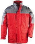 MV piros/szürke RIPSTOP kabát (MÉRETEK: S-XXXL)