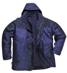 MV kék/fekete Portwest 3/1 AVIEMORE kabát S570 S, M, XL, XXL, XXXL méretek