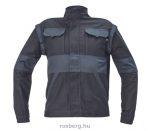 MV fekete/szürke MAX kabát 44-68 méretek
