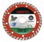 VERTO gyémántvágó 115x22 turbo 61H2T1