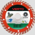 VERTO gyémántvágó 230x22 turbo 61H2T9