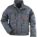 MV szürke/narancs PADDOCK kabát (MÉRETEK: S-XXXL (40-62)