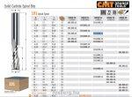 Felsőmaró CMT 191.840.11 tömör keményfém spirálmaró