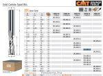 Felsőmaró CMT 191.890.11 tömör keményfém spirálmaró