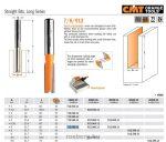 Felsőmaró CMT 712.080.11 nútmaró rövid sorozat