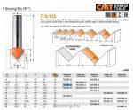 Felsőmaró CMT 715.095.11 nútmaró rövid sorozat