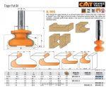 Felsőmaró CMT 855.602.11 Bútorfogantyú maró