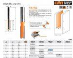 Felsőmaró CMT 912.060.11 nútmaró hosszú sorozat