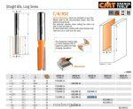 Felsőmaró CMT 912.080.11 nútmaró hosszú sorozat