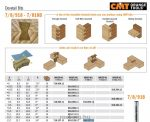 Felsőmaró CMT 918.127.11 fecskefark maró
