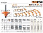 Felsőmaró CMT 939.285.11 gömbölyítő marók