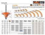 Felsőmaró CMT 939.445.11 gömbölyítő marók
