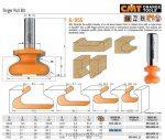 Felsőmaró CMT 955.103.11 Bútorfogantyú maró