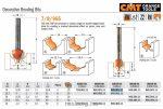 Felsőmaró CMT 965.001.11 merülő marók, dekorációs marók
