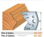 HSS marólapka No. 508 B=50 CMT 690.508