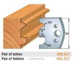 HSS marólapka No. 517 B=50 CMT 690.517