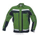 MV zöld/fekete STANMORE kabát 48-62 méretek