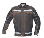 MV sötétbarna/fekete STANMORE kabát 48-62 méretek
